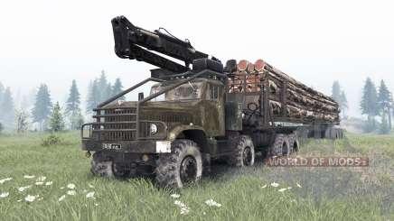 КрАЗ-255 8x8 кастомный для Spin Tires