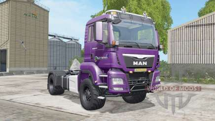 MAN TGS 18.480 razzmic berry для Farming Simulator 2017