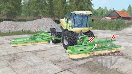 Krone BiG M 500 chateau green для Farming Simulator 2017