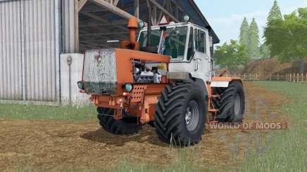 Т-150К сиена оранжевый окрас для Farming Simulator 2017