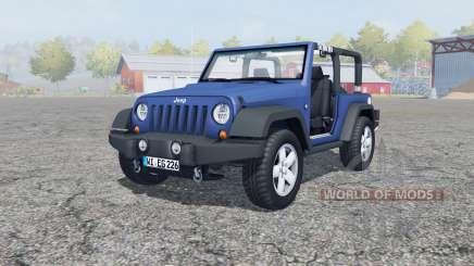 Jeep Wrangler (JK) san marino для Farming Simulator 2013