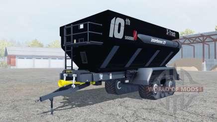 Perard Interbenne 25 X-Track rich black для Farming Simulator 2013