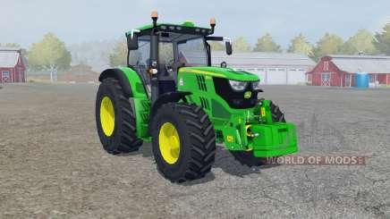 John Deere 6150R froɳt loader для Farming Simulator 2013