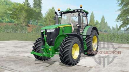 John Deere 7230R-7310R configure для Farming Simulator 2017