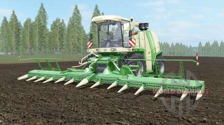 Krone BiG X 1100 light cream для Farming Simulator 2017