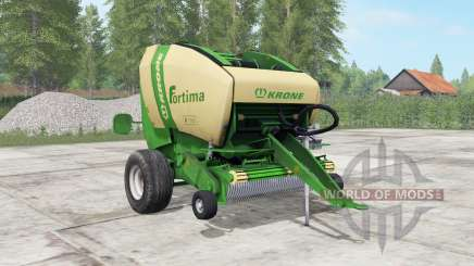 Krone Fortima V 1500 pantone green для Farming Simulator 2017