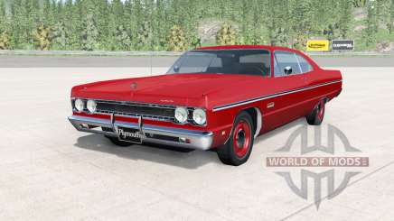 Plymouth Fury lll coupe 1969 v2.0 для BeamNG Drive