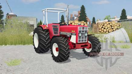 International 633 4WD front loader для Farming Simulator 2015