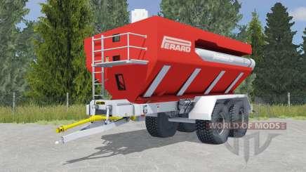 Perard Interbenne 25 light brilliant red для Farming Simulator 2015