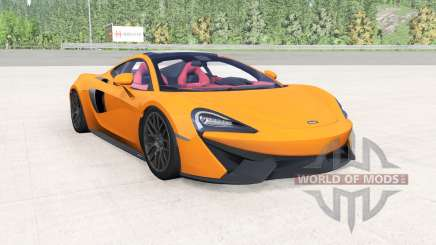 McLaren 570GT 2017 mikado yellow для BeamNG Drive