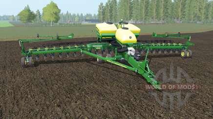 John Deere DB60 north texas green для Farming Simulator 2017