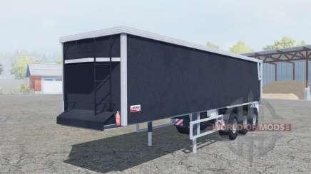 Kroger Agroliner SRB3-35 bright gray для Farming Simulator 2013