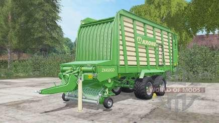 Krone ZX 450 GD для Farming Simulator 2017