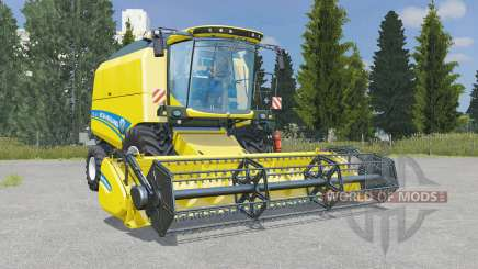 New Holland TC4.90 pantone yellow для Farming Simulator 2015