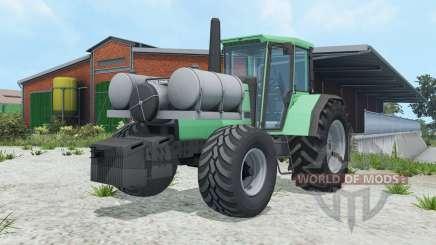 Deutz-Fahr AgroSun 140 ocean green для Farming Simulator 2015