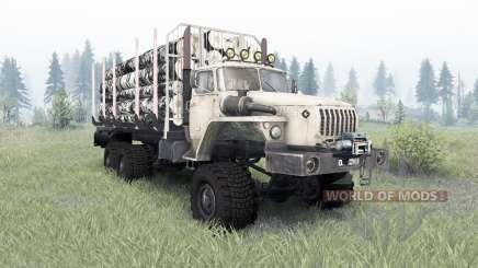 Урал-4320-1912-40 v1.3 для Spin Tires