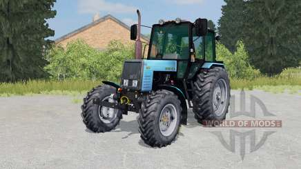 МТЗ-1025 Беларус ярко-голубой окрас для Farming Simulator 2015