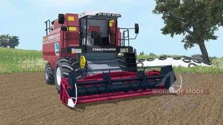 Палессе GS12 умеренно-красный окрас для Farming Simulator 2015