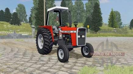 Massey Ferguson 265 ferrari red для Farming Simulator 2015