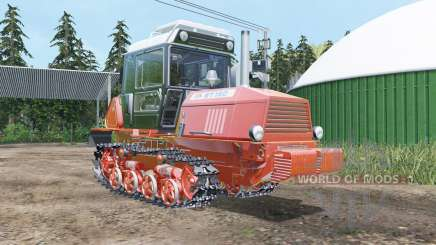 ВТ-150 мяко-червоне забарвлення для Farming Simulator 2015