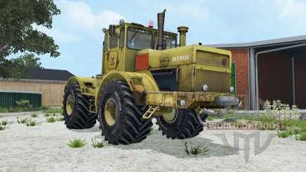 Кировец К-700А умеренно-жёлтый окрас для Farming Simulator 2015