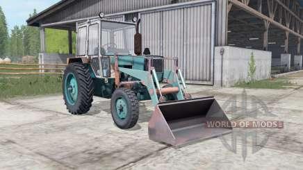 ЮМЗ-6КЛ с ПКУ для Farming Simulator 2017
