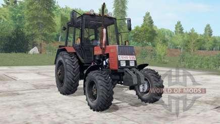 МТЗ-892.2 Беларус умеренно-красный окрас для Farming Simulator 2017