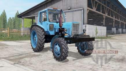 МТЗ-80 Беларус ӷолубой окҏас для Farming Simulator 2017
