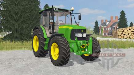 John Deere 5080M islamic green для Farming Simulator 2015