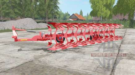 Lemken Diamant 12 red edition для Farming Simulator 2017