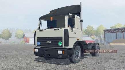 МАЗ-5432 серовато-зелёный окрас для Farming Simulator 2013