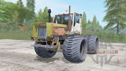 Т-150К умеренно-жёлтый окрас для Farming Simulator 2017