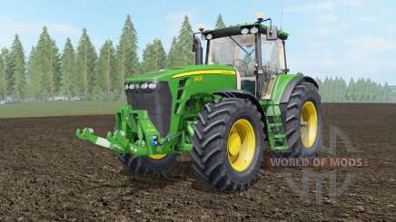 John Deere 8130-8530 для Farming Simulator 2017