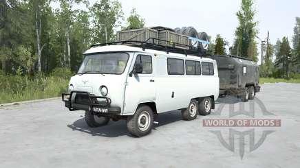 УАЗ-452К для MudRunner