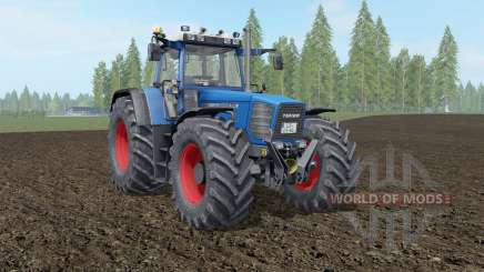 Fendt Favorit 816-824 Turboshift honolulu blue для Farming Simulator 2017