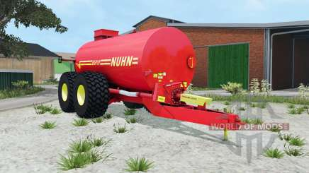Nuhn Mugnum 5000 light brilliant red для Farming Simulator 2015
