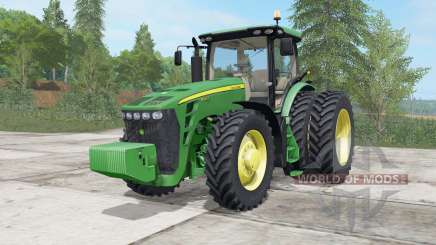John Deere 8245R-8345R для Farming Simulator 2017