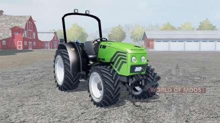 Deutz-Fahr Agroplus 77 lime green для Farming Simulator 2013