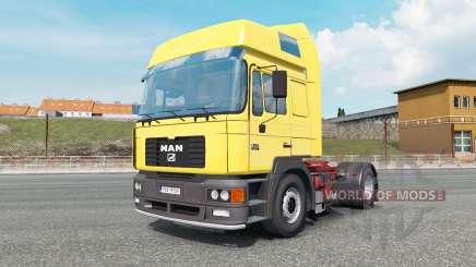 MAN F2000 19.414 gargoyle gas для Euro Truck Simulator 2
