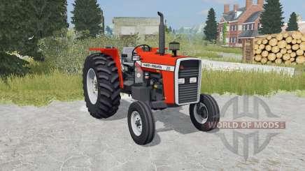 Massey Ferguson 265 orioles orange для Farming Simulator 2015