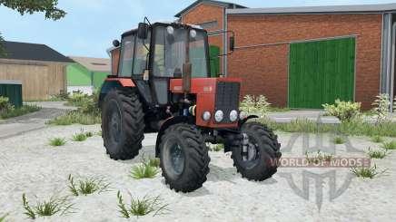 МТЗ-82.1 Беларус яҏко-красный окрас для Farming Simulator 2015