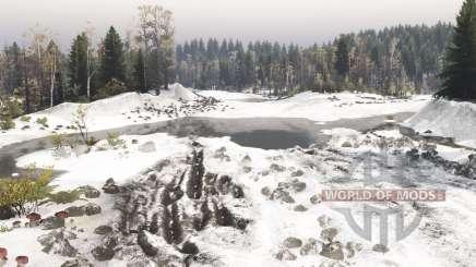 Ранний снег v1.1 для Spin Tires
