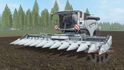 New Holland CR10.90 paint and chassis choice для Farming Simulator 2017
