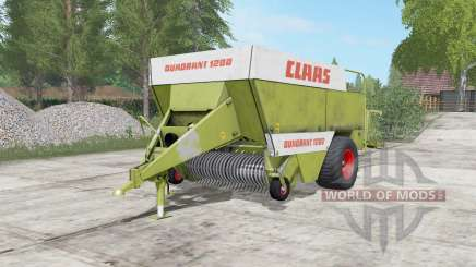 Claas Quadranƫ 1200 для Farming Simulator 2017