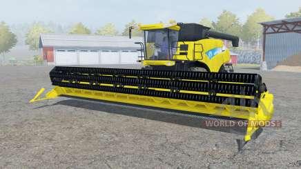 New Holland CR9090 titanium yᶒllow для Farming Simulator 2013