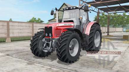 Massey Ferguson 6460-6495 для Farming Simulator 2017