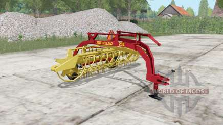 New Holland Rolabar 258 для Farming Simulator 2017