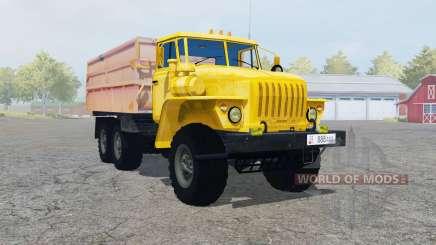 Урал-5557 с прицепом для Farming Simulator 2013