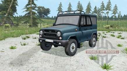 УАЗ Хантер (315195) для Farming Simulator 2015