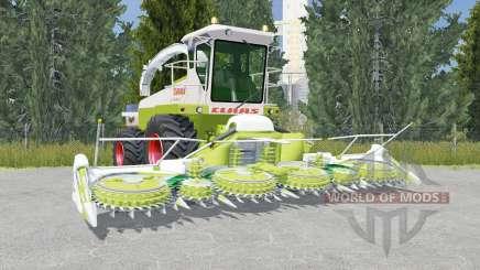 Claas Jaguar 685 citron для Farming Simulator 2015